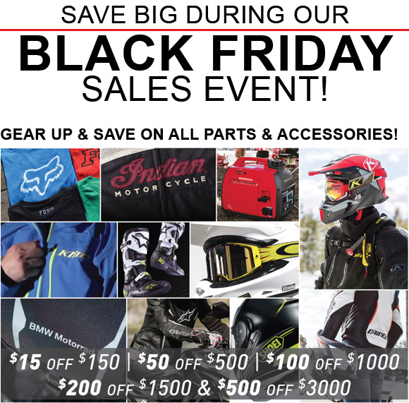 SAVE BIG DURING OUR BLACK FRIDAY SALES EVENT!