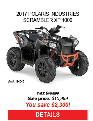 2017 Polaris Industries Scrambler XP 1000
