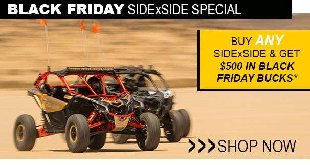 Black Friday SidexSide Special