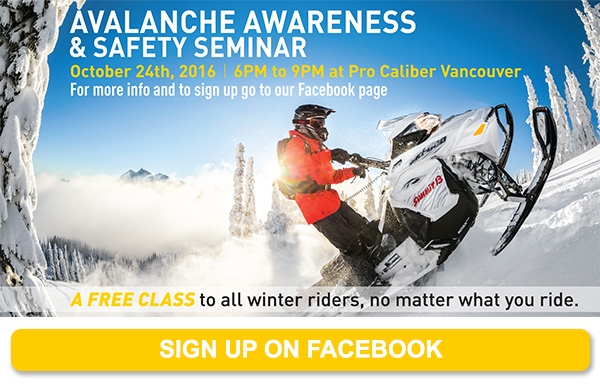 Avalanche Awareness and Safety Seminar - Sign up on Facebook