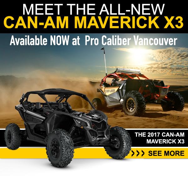 Meet the all-new Can-Am Mverick X3