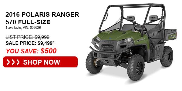 2016 Polaris Ranger 570 Full-Size