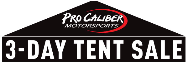 3-DAY TENT SALE